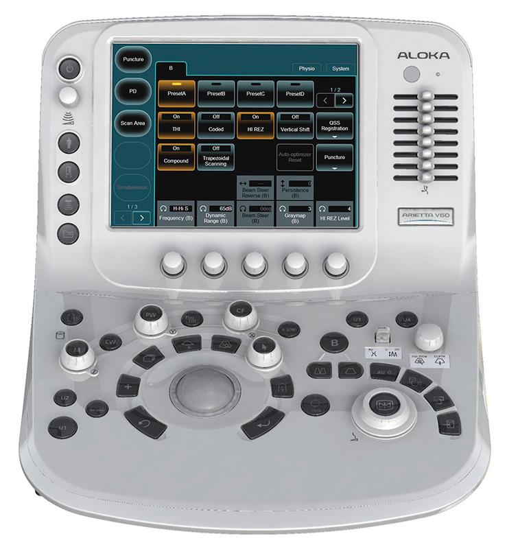 Аппарат ультразвуковой диагностический, модель ARIETTA V70 - поставка ультразвуковой медицинской техники в Казахстане, Хитачи, Hitachi
