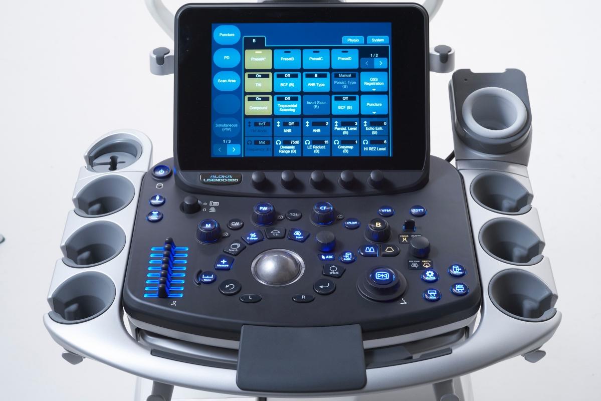 Аппарат ультразвуковой диагностический, Hitachi-Aloka Lisendo 880 - поставка ультразвуковой медицинской техники в Казахстане, Хитачи, Hitachi